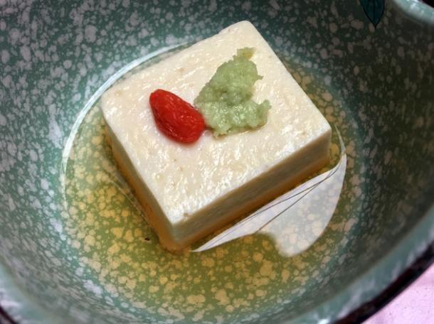tofu at hotel nakanoshima wakayama