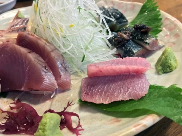 wakayama sashimi at kanteki