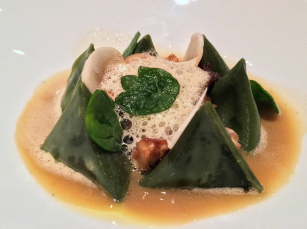 berlingot tortellini at le dame de pic london