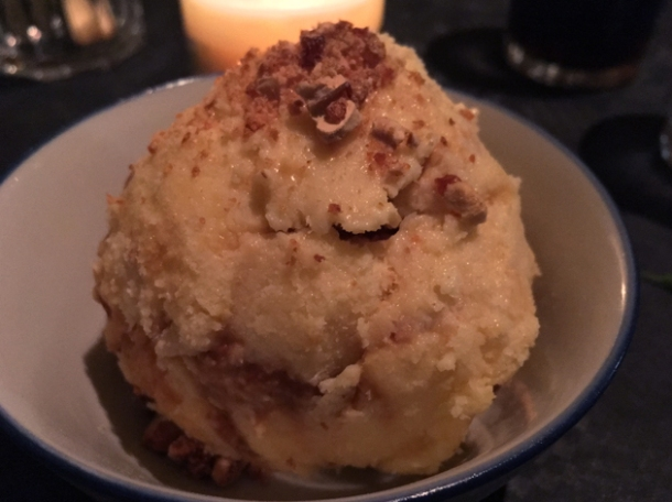 cashew nut praline ice cream at farang highbury