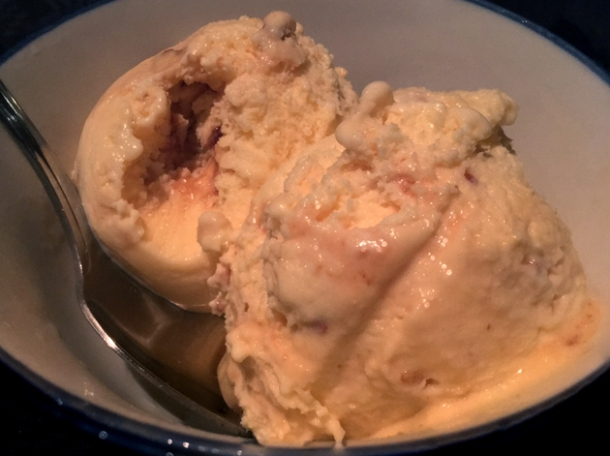 cashnew nut praline ice cream at farang highbury park