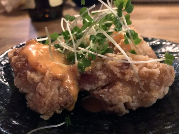 chicken karaage at jugemu