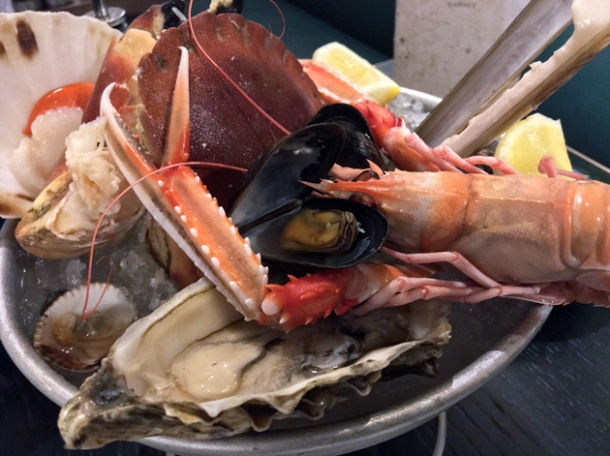 fruits de mer at rick stein barnes
