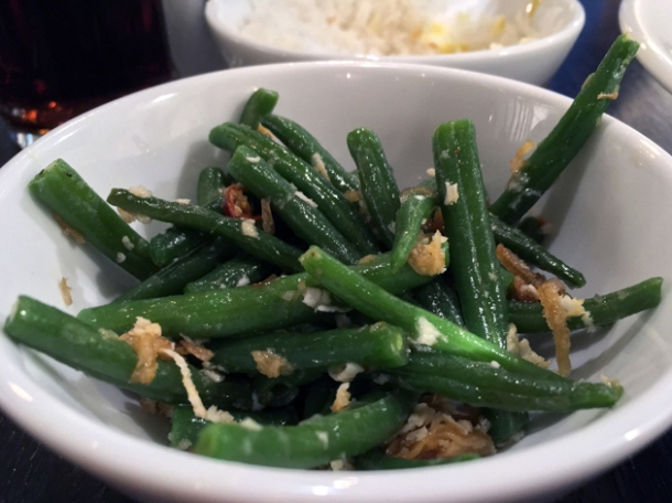 green beans at rick stein barnes