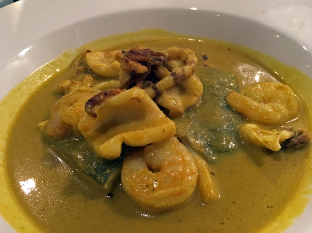 indonesian seafood curry at rick stein barnes