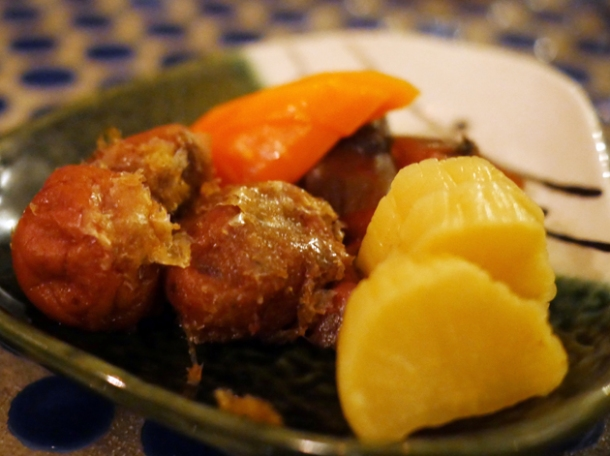 Japanese pickles at jugemu