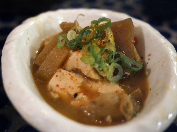 miso tripe stew at jugemu