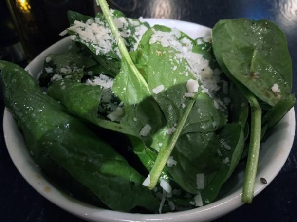 pancetta spinach at rick stein barnes