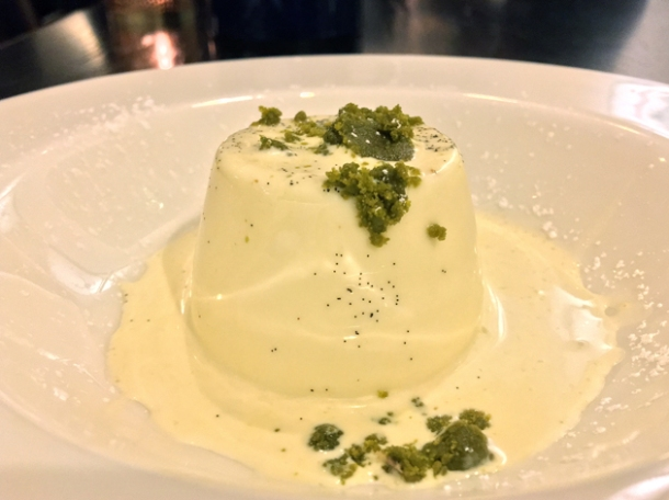 panna cotta at rick stein barnes
