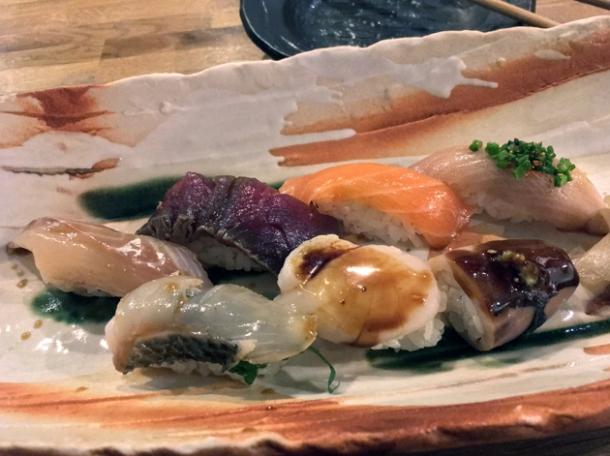 sushi at jugemu soho