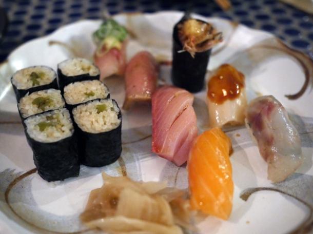 sushi at jugemu