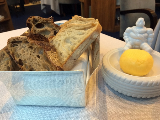 bread and butter at claude bosi bibendum