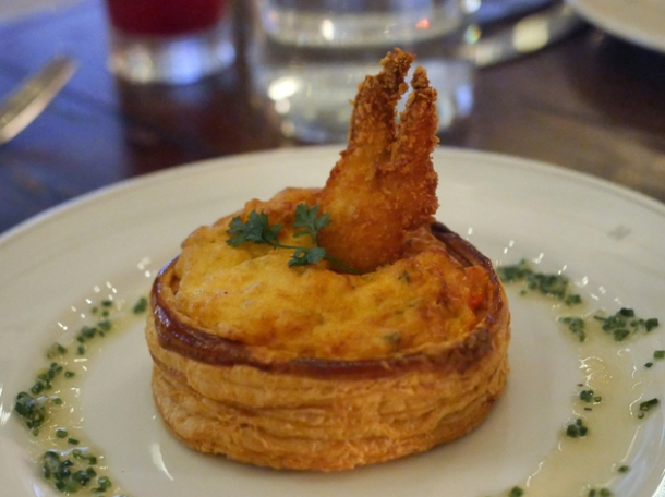lobster thermidor tart at holborn dining room