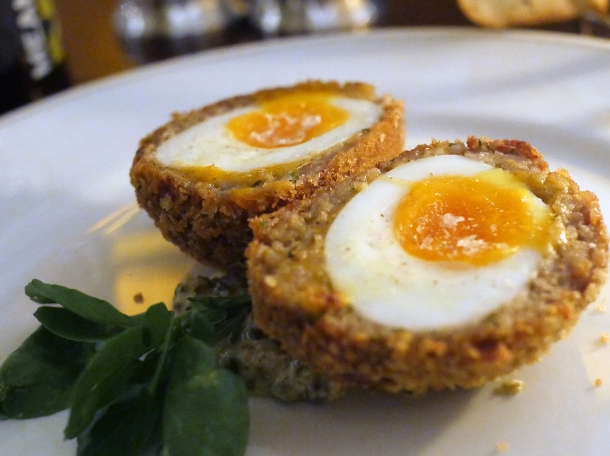 scotch egg at holborn dining room london