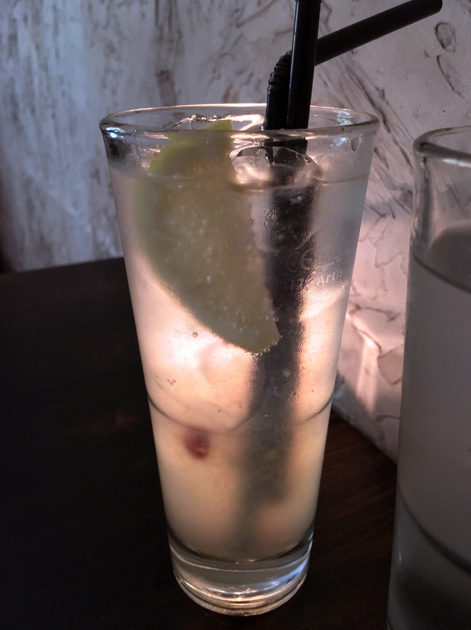 chilli lemonade at madame d