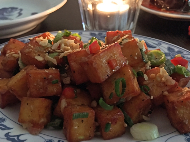 chilly paneer at madame d