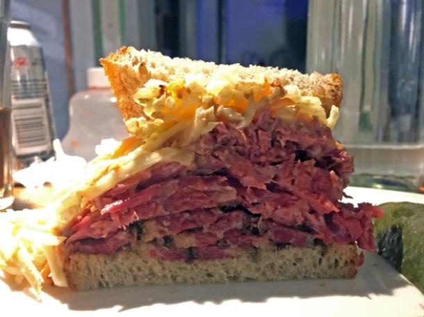 classic special sandwich at monty's deli