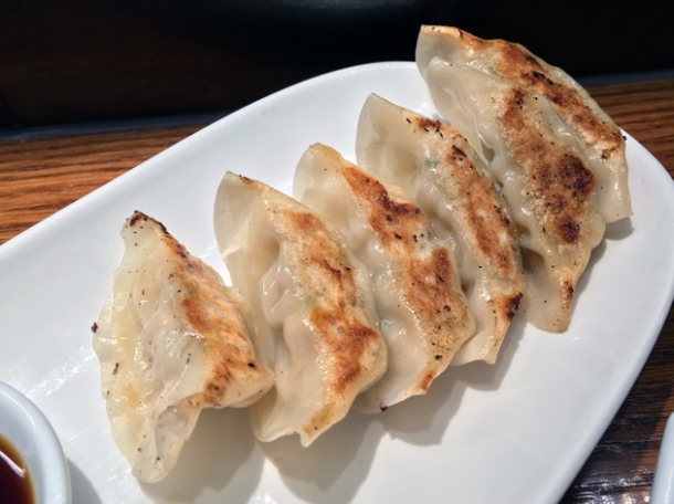 gyoza at ippudo st giles