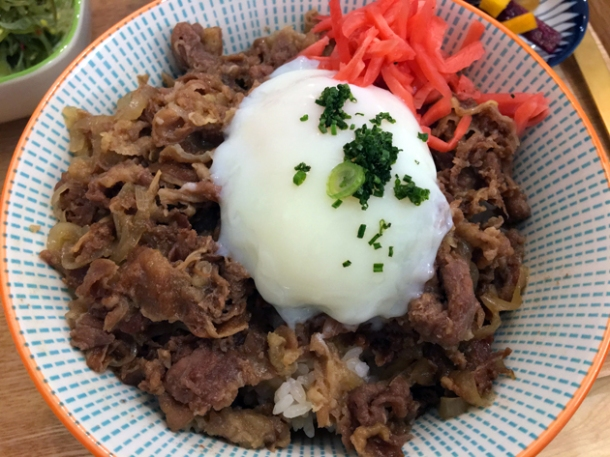 gyudon at machi-ya