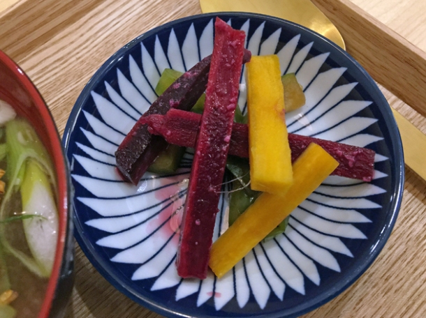 japanese pickles at machi-ya panton street