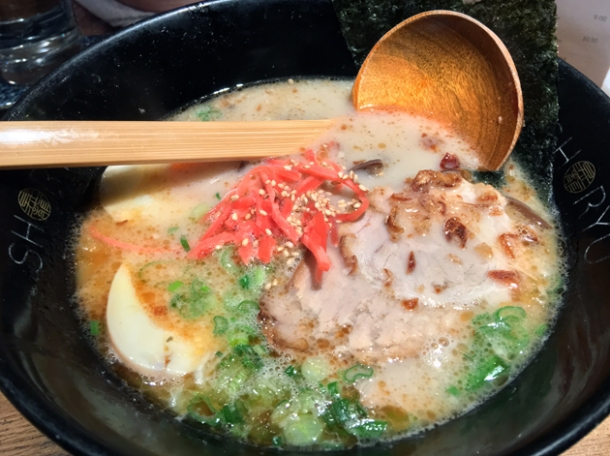 kotteri hakata tonkotsu at shoryu kingly court