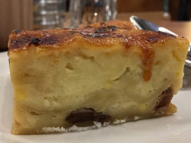 lokshen pudding at monty's deli
