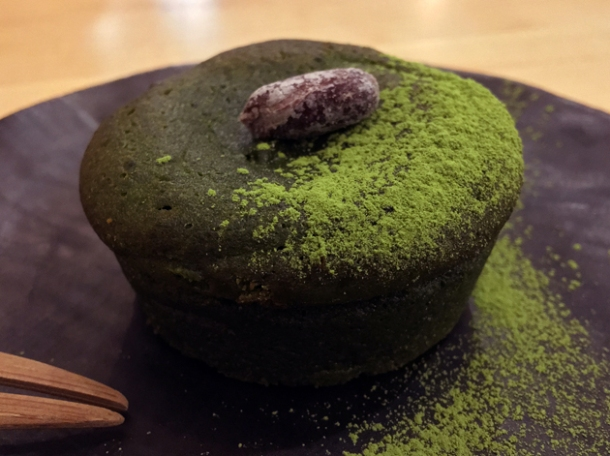 matcha fondant at machi-ya