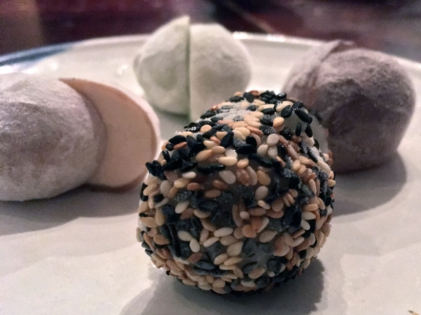 mochi ice cream at bone daddies soho
