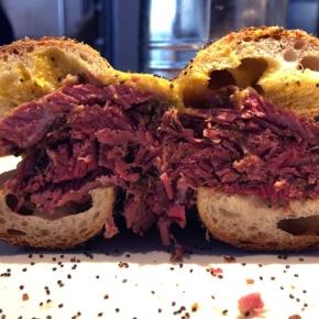 Monty's Deli review – street food bagels settle down inHoxton