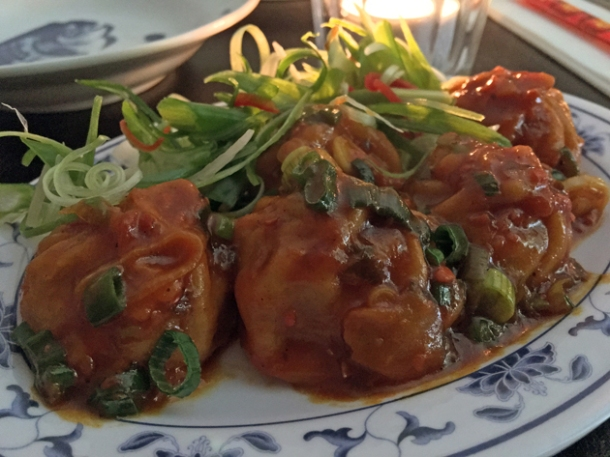 pork momos at madame d