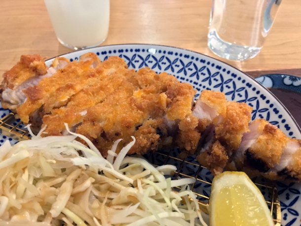 pork tonkatsu at machi-ya