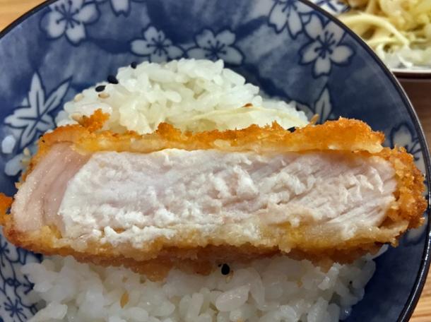 pork tonkatsu at machiya