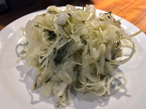 sauerkraut at monty's deli