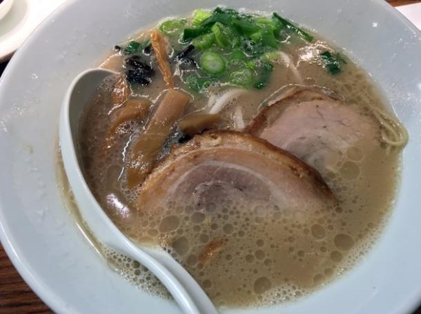 shiromaru classic tonkotsu ramen at ippudo st giles