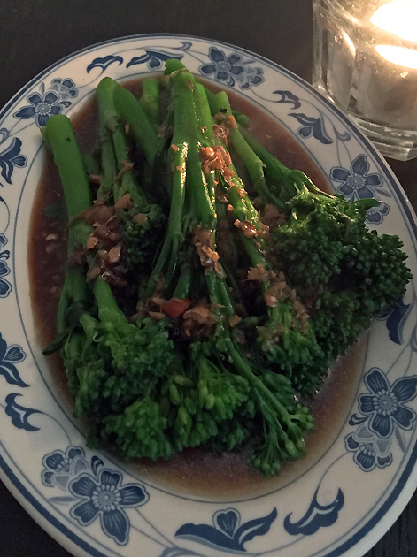 tenderstem sprouting broccoli at madame d