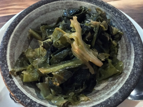 collard greens at red rooster the curtain