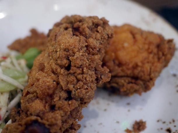 fried chicken at plaquemine lock