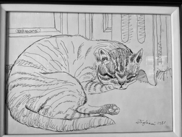 cat art at the wigmore