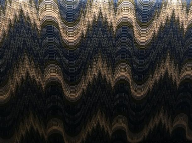 pattern clash pub decor at the wigmore