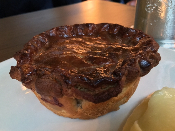 pie at the wigmore