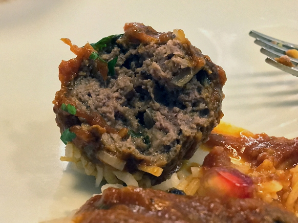 venison kofta at darjeeling express