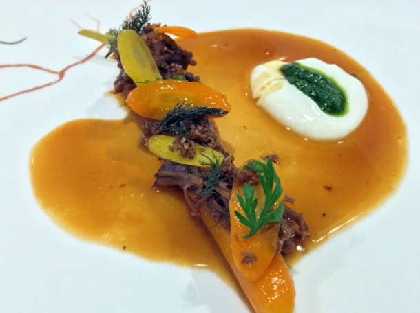 lamb glazed carrot at core by clare smyth
