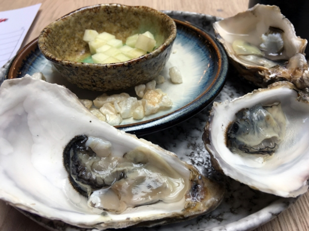 oysters at magpie