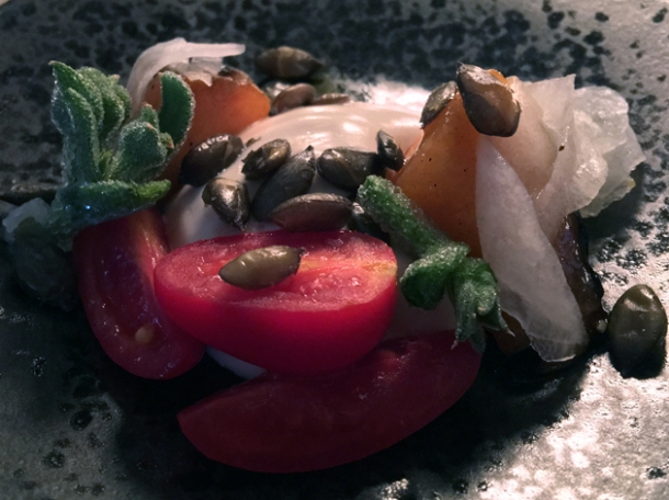 tomatoes and pumpkin seeds at magpie