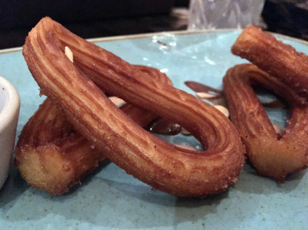 churros at el muro
