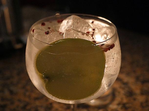 Japanese gin at temper city