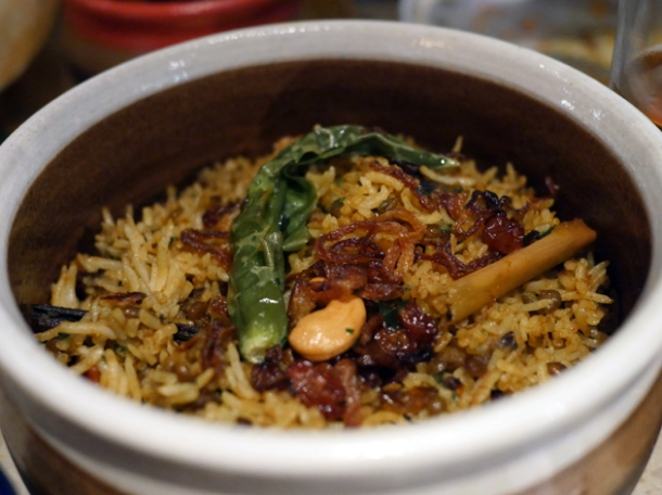 dhal ghee biriani at hoppers st christopher's place