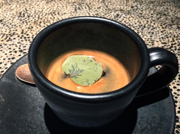eucalyptus espresso at ella canta