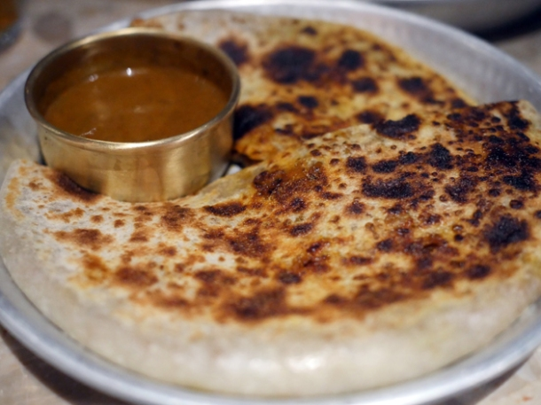 goat roti at hoppers st christopher's place