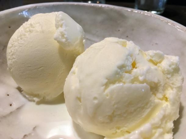 fior de latte ice cream at breddos tacos soho